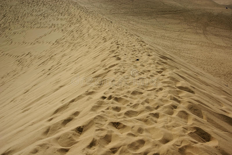 Path On Sand Dunes Stock Images