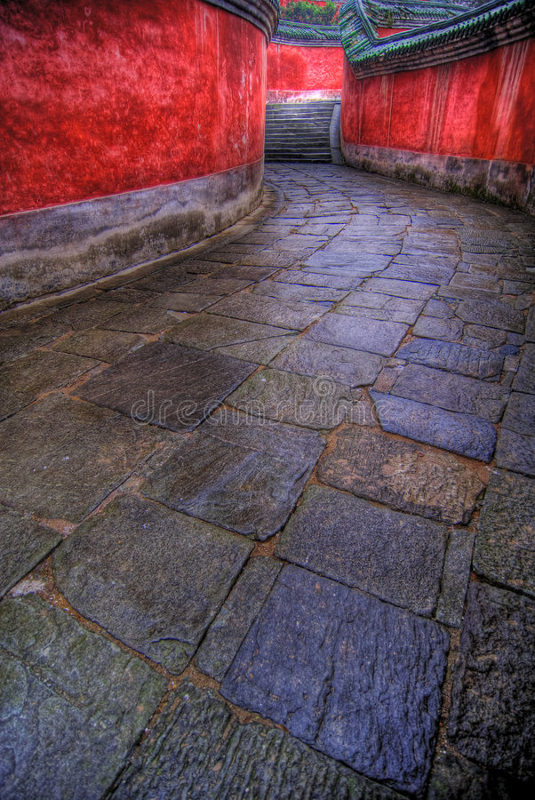 path stone winding στοκ φωτογραφίες με δικαίωμα ελεύθερης χρήσης
