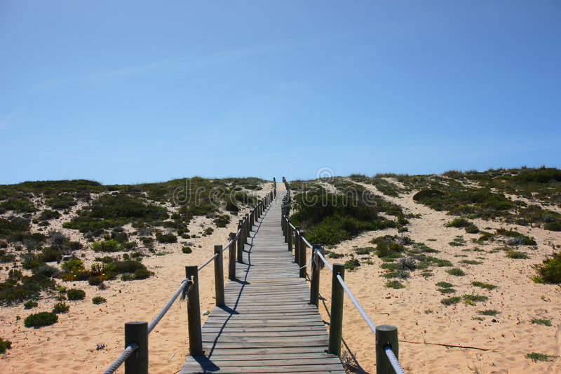 Download Path To The Beach Stock Images - Image: 5117504