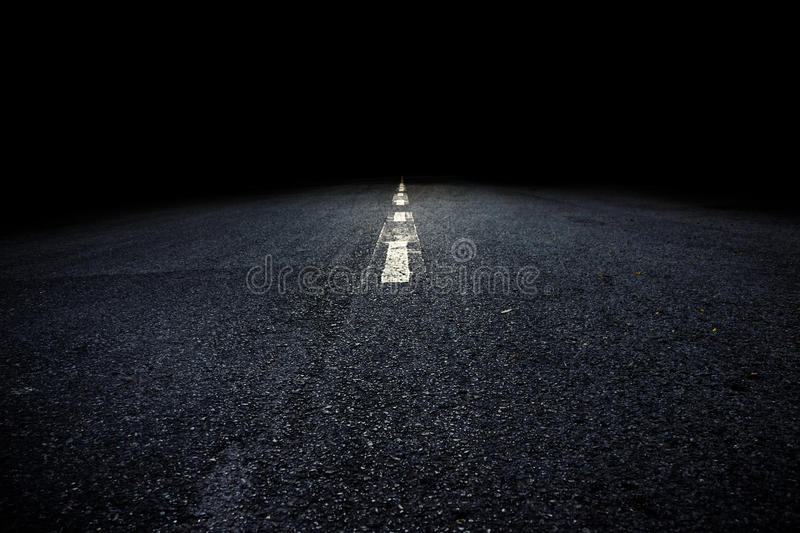 Path to Darkness. Illustrate general And add the text font stock photography
