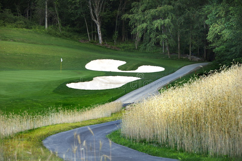 Download Path to the Golf Course stock image. Image of sport, grass - 1078873