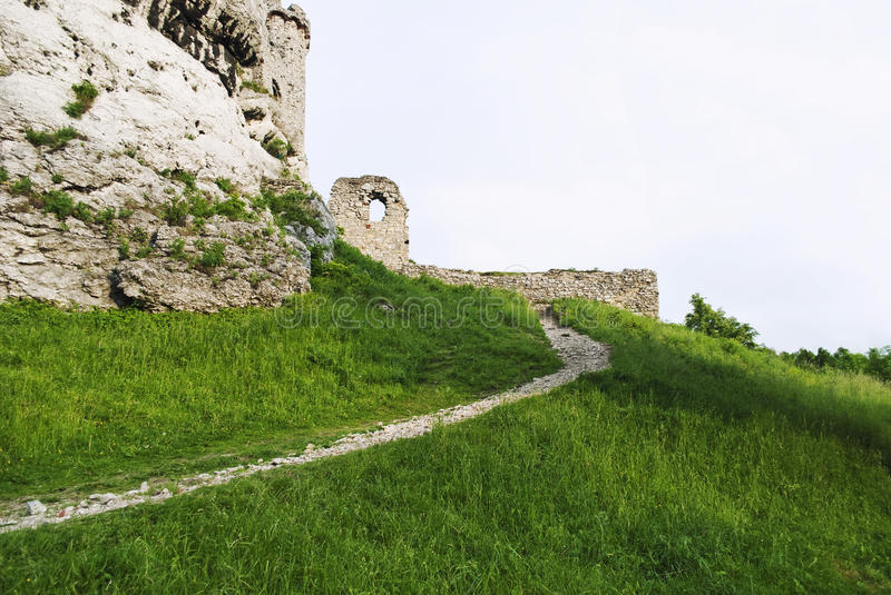 Download Path to the kingdom stock photo. Image of castle, abandoned - 25579704