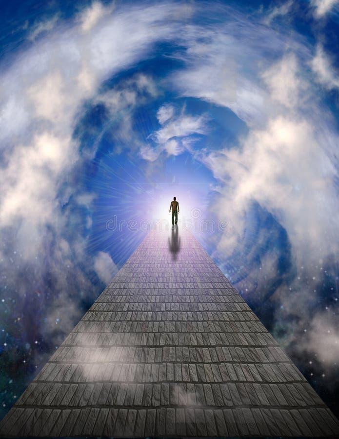 Free Path To Light Royalty Free Stock Photo - 114154305