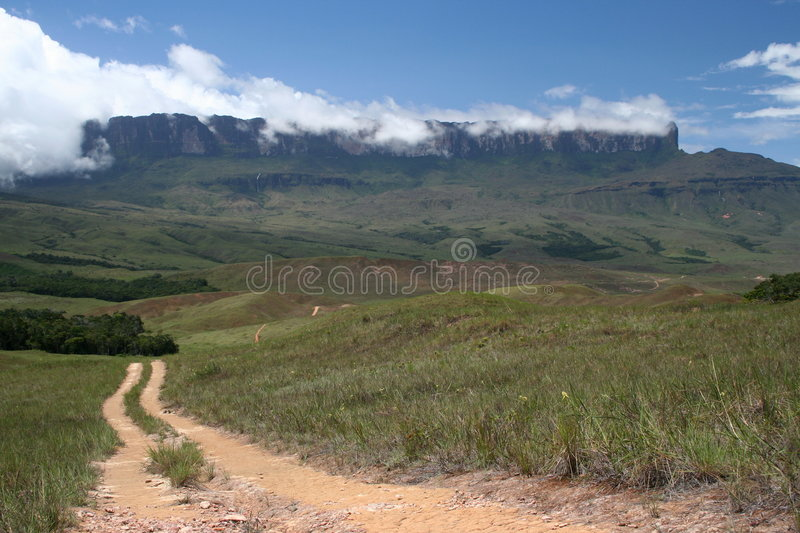 Download A path to Roraima stock photo. Image of doyle, travel - 1526380