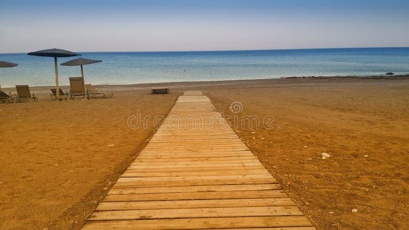 Path to the Sea stock photo