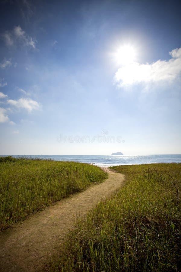 Free Path To The Sea Royalty Free Stock Photos - 28769328