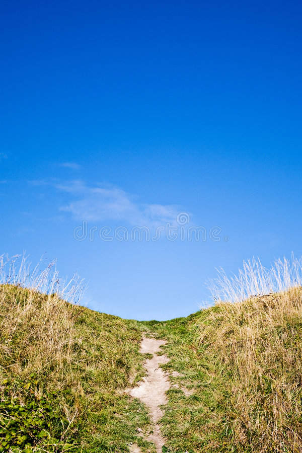 Free Path To The Top Of The Hill Royalty Free Stock Photography - 6813967