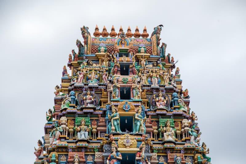 Pathirakali阿曼寺庙在亭可马里,斯里兰卡 免版税图库摄影