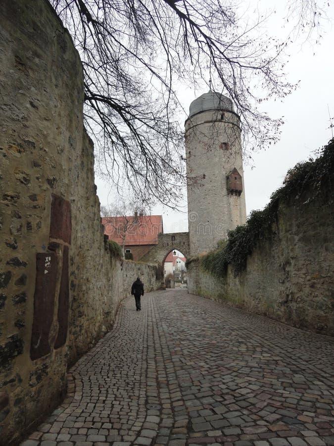 Paths of Warburg stock images