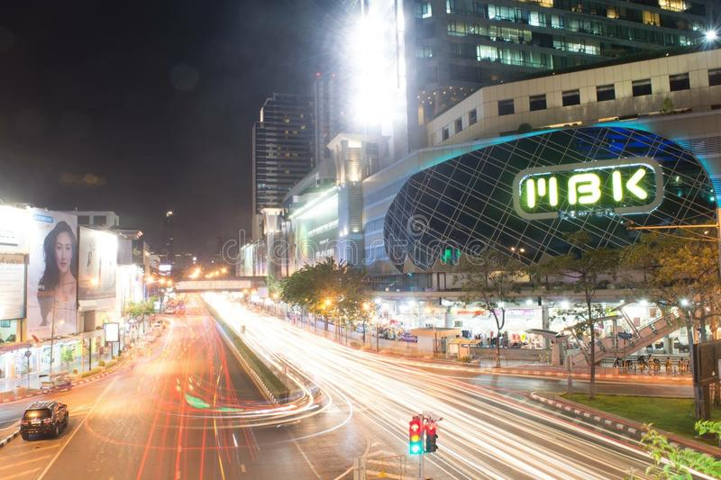 Pathumwan road royalty free stock photo