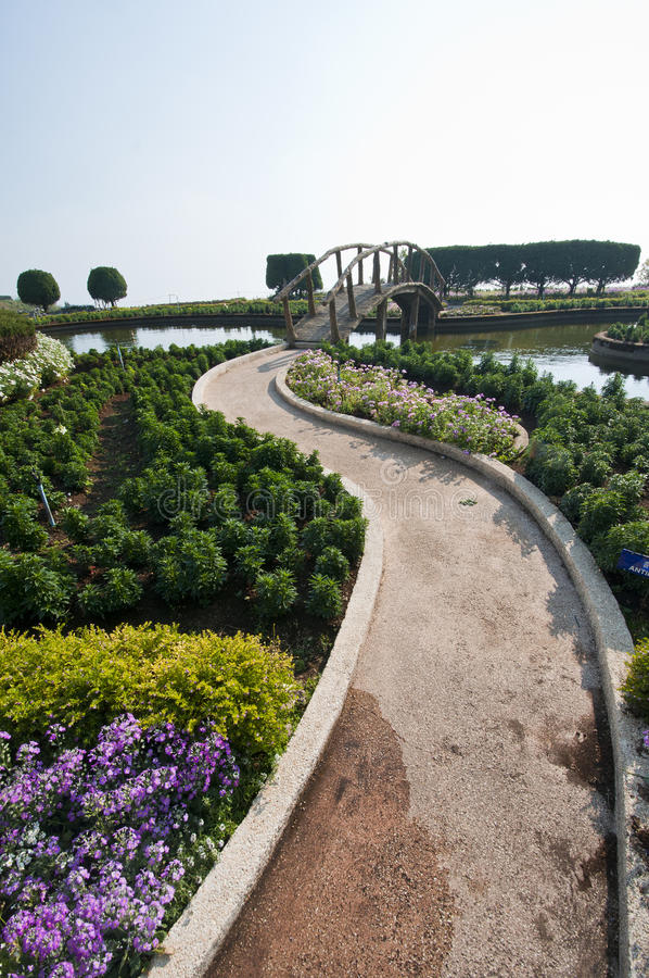 Download Pathway in the garden stock photo. Image of background - 23856826