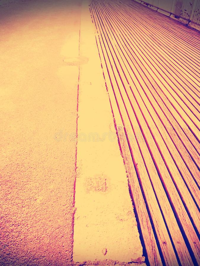 Pathway of royalty free stock photography