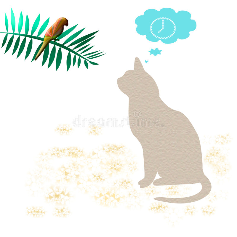 Download Patience on the prowl stock illustration. Image of prowl - 1833782