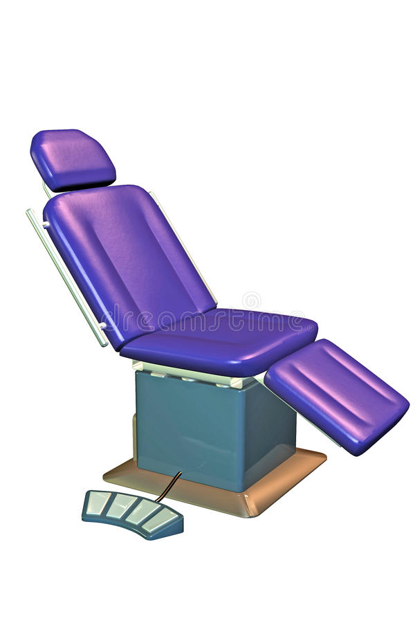 Patient Chair Stock Image