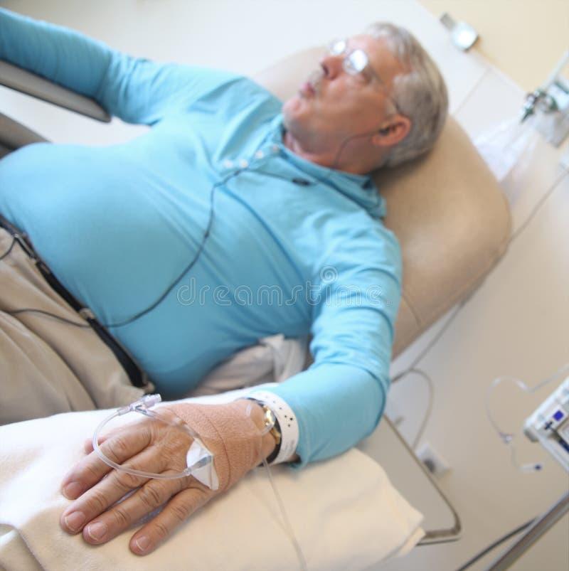 Patient de chimiothérapie image libre de droits