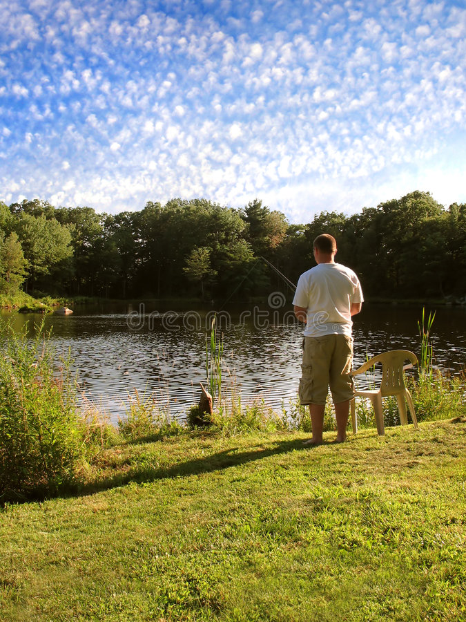 Download Patient Fisherman Royalty Free Stock Images - Image: 8247449