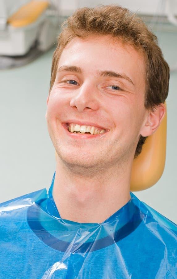 Patient heureux photos stock