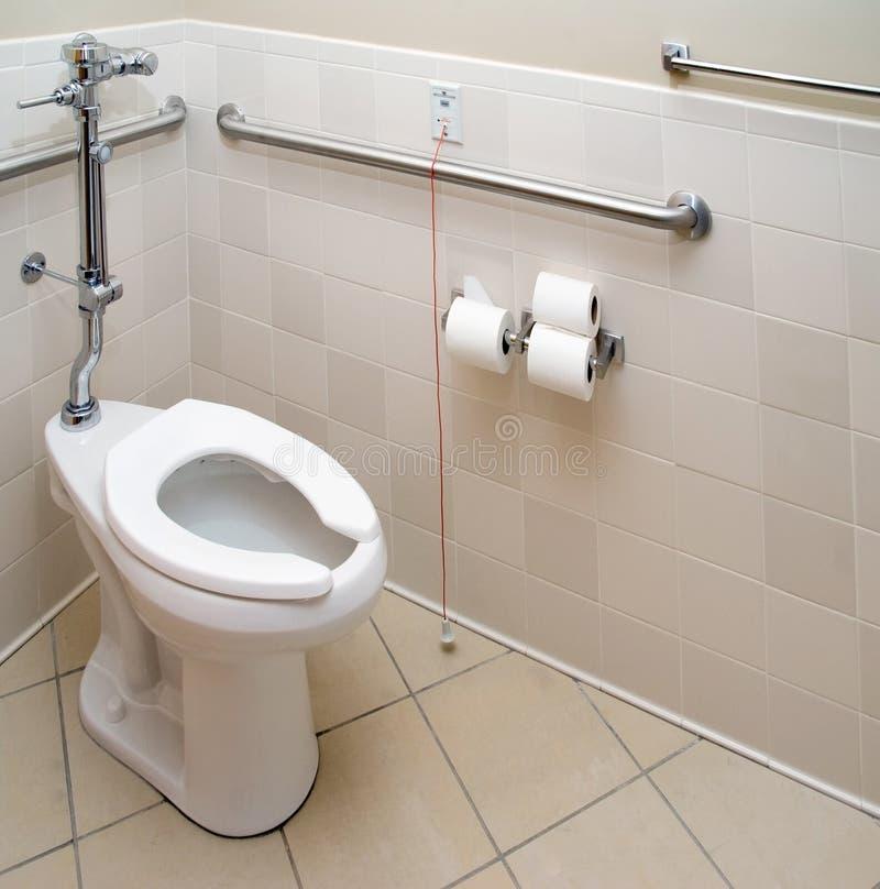 patient hospitalisé de salle de bains photo libre de droits