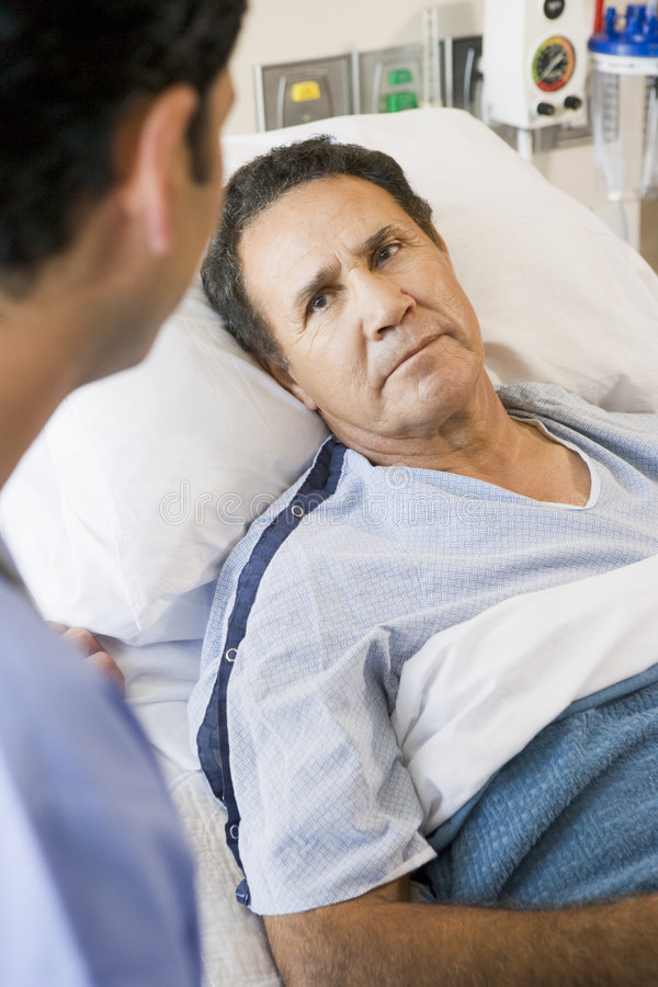 Patient Looking At Doctor
