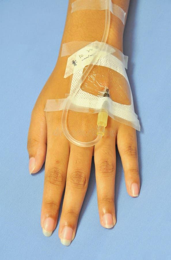 Download Patientenhand stockfoto. Bild von gesundheit, tropfen - 27732320