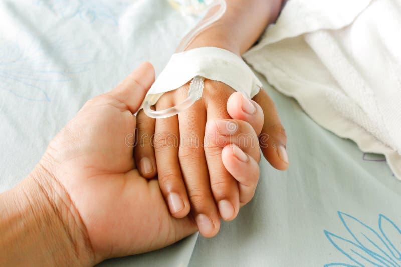 Patients de fièvre images libres de droits