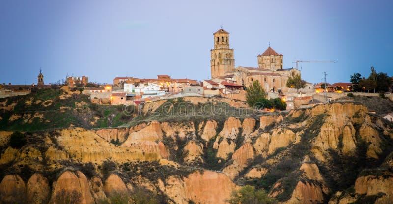 patimonio de Καστίλλη πόλεων στοκ εικόνες