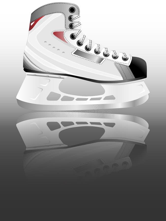 patin de hockey sur glace illustration de vecteur. Black Bedroom Furniture Sets. Home Design Ideas