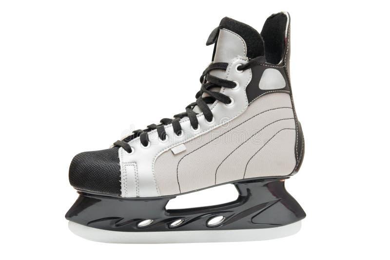 Patin de hockey sur glace de l'hiver des hommes image stock