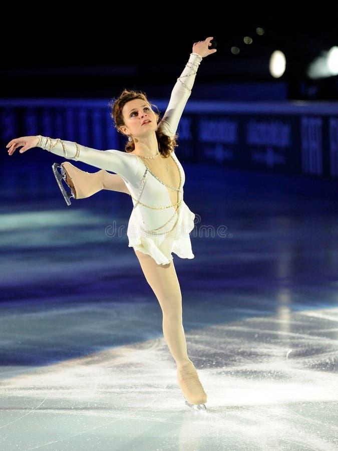 Patinador de hielo Sasha Cohen imagenes de archivo