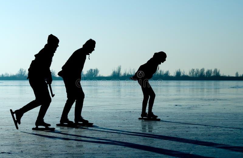 Patinagem de gelo