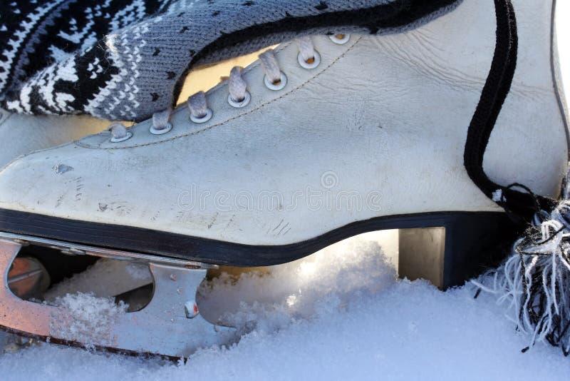 Patinaje de hielo imagen de archivo libre de regalías
