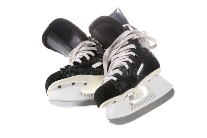Patines del hockey foto de archivo libre de regalías