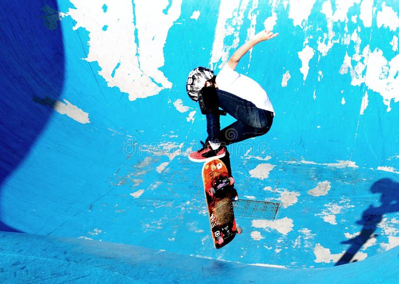 patineur photo stock
