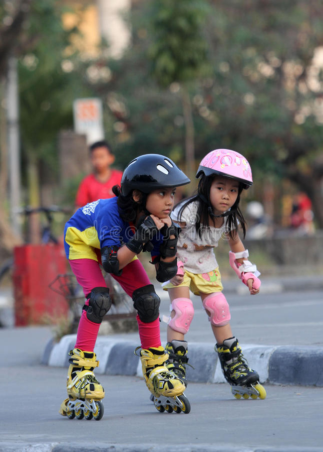 patins photographie stock