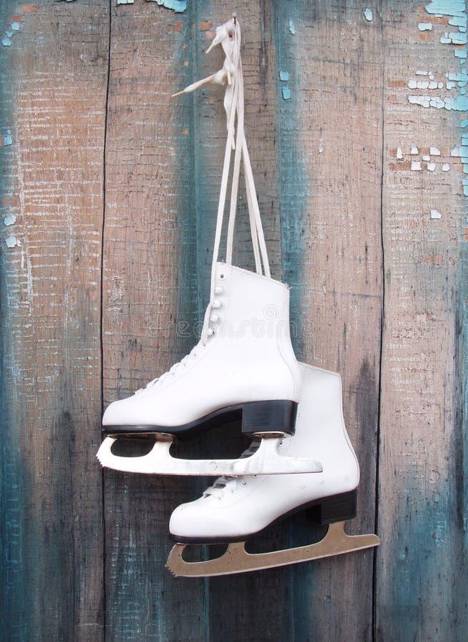 Patins de gelo imagens de stock royalty free