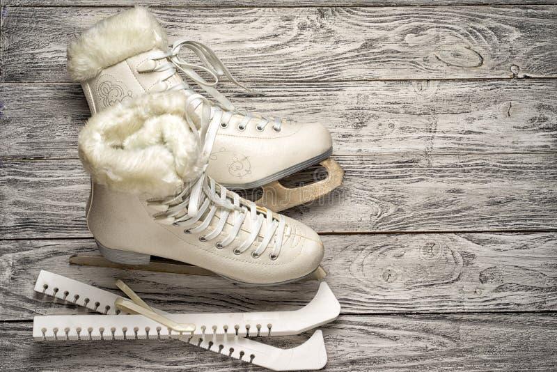 Patins de gelo fotos de stock