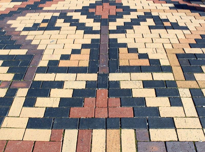 patio τούβλου ανασκόπησης στοκ εικόνες με δικαίωμα ελεύθερης χρήσης