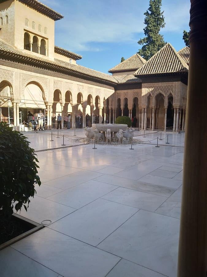 patio imagen de archivo