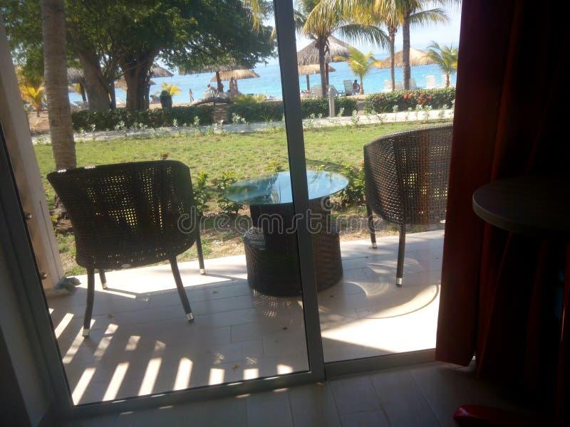 patio photographie stock
