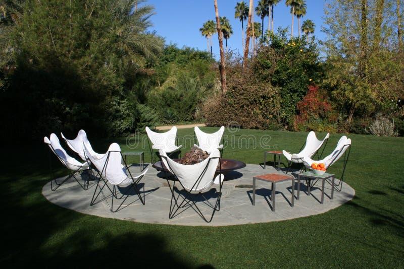 Patio Chairs stock photos