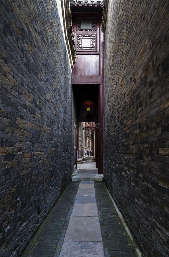 Patio chino antiguo fotografía de archivo