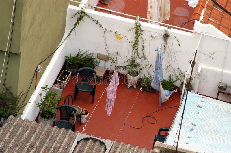 patio dach obraz royalty free