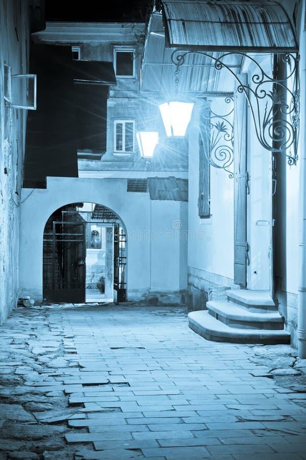 Patio de Lviv imagen de archivo libre de regalías