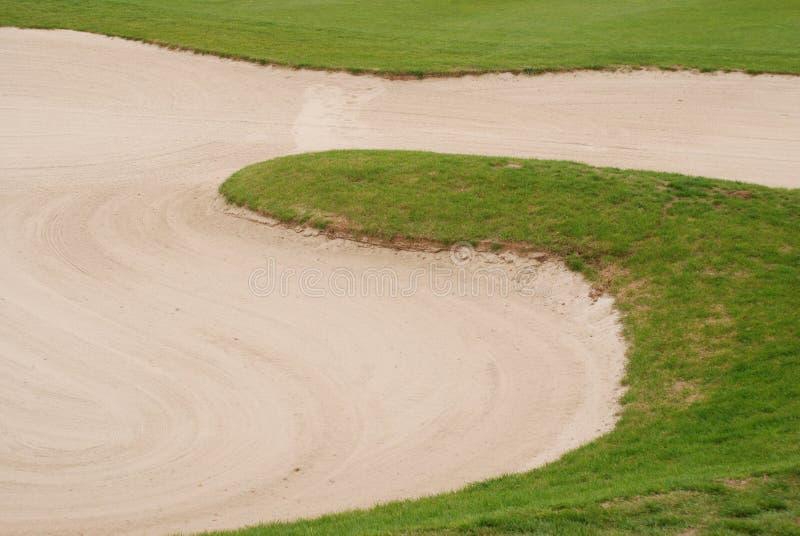 Patio del golf fotografía de archivo