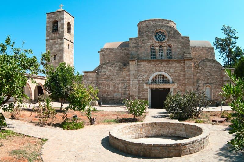 Patio del monasterio del St. Barnabas imágenes de archivo libres de regalías