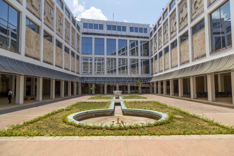 Patio del Museo de Bellas Artes, La Habana, Cuba imagenes de archivo