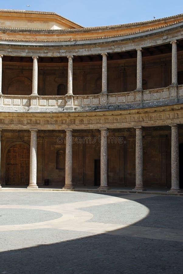 Patio del palacio imagen de archivo libre de regalías