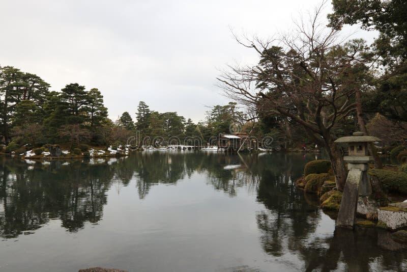 Patio du Japon photos libres de droits