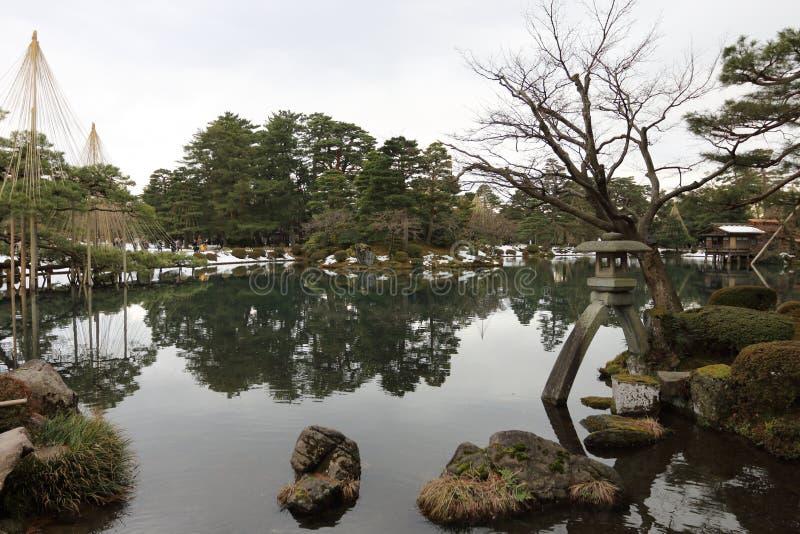 Patio du Japon photos stock