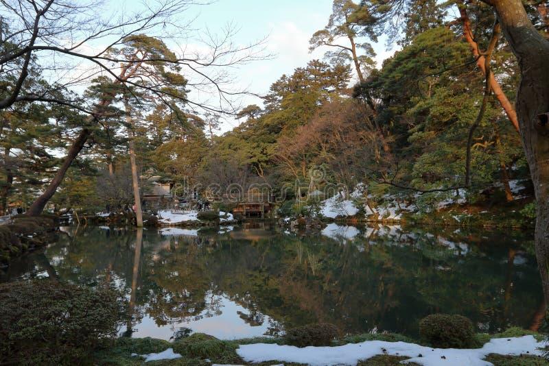 Patio du Japon images stock